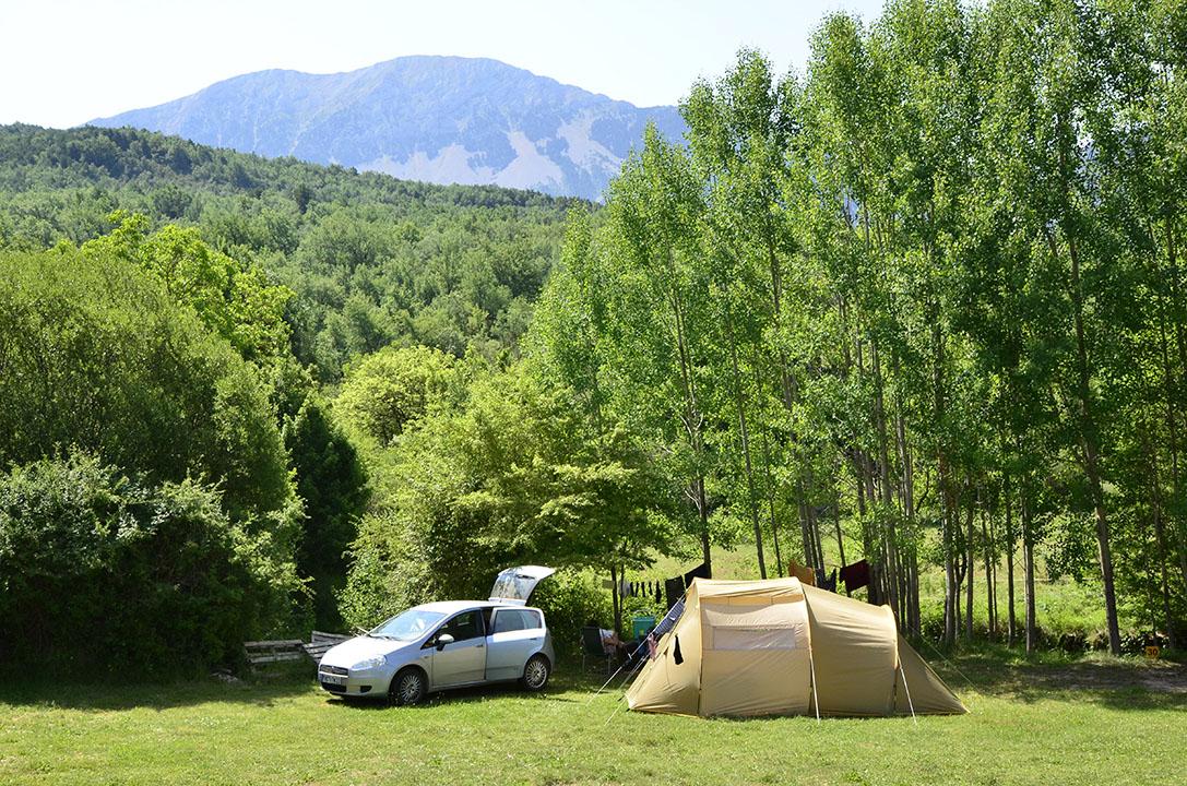 Camping Valle de Nocito