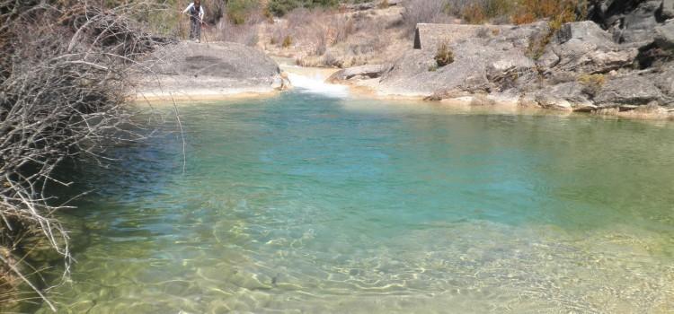 Badinas y piscinas naturales de la Sierra de Guara