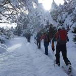 Excursión con esquís de travesía en los alrededores de  Nocito (Sierra de Guara).