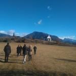 Visita a San Urbez de Albella con Oscar Ballarín