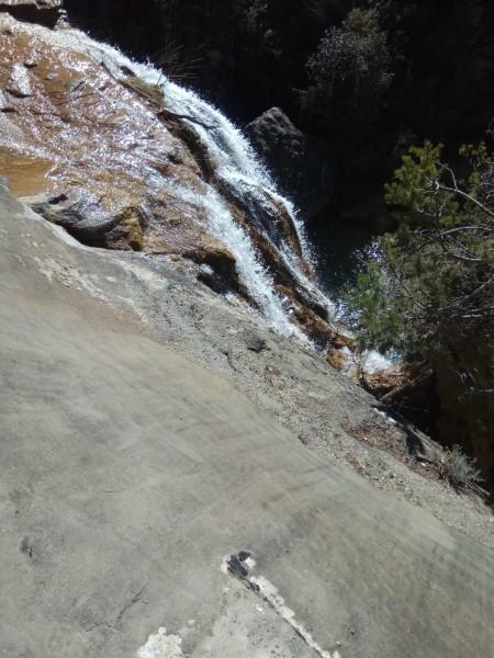 Vista desde arriba del Barranco de Abellada